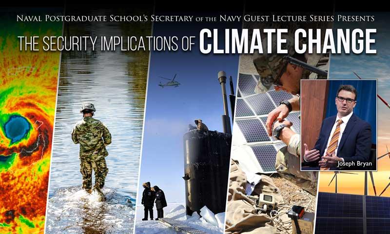Pentagon's Senior Climate Advisor Delivers Talk on Security, Climate Change in Latest SGL