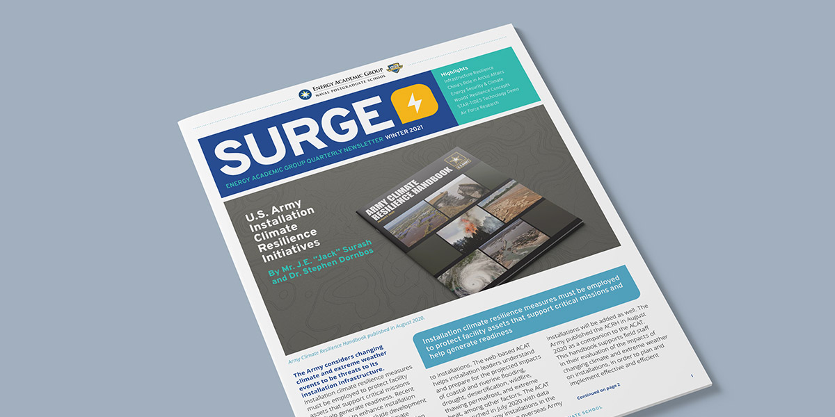 Image of the Surge Quarterly Newsletter