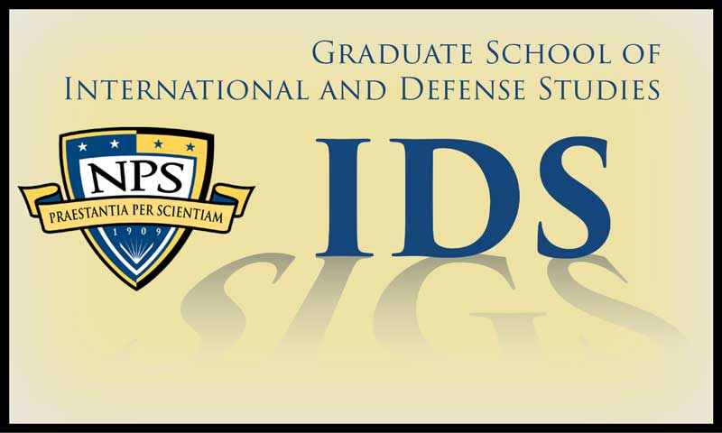 Effective 29MAR21, SIGS adopts a new name: the Graduate School of International and Defense Studies (IDS)